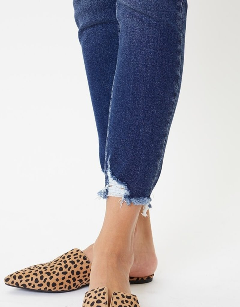 509 Broadway |Alison| High Rise Detail Ankle Skinny