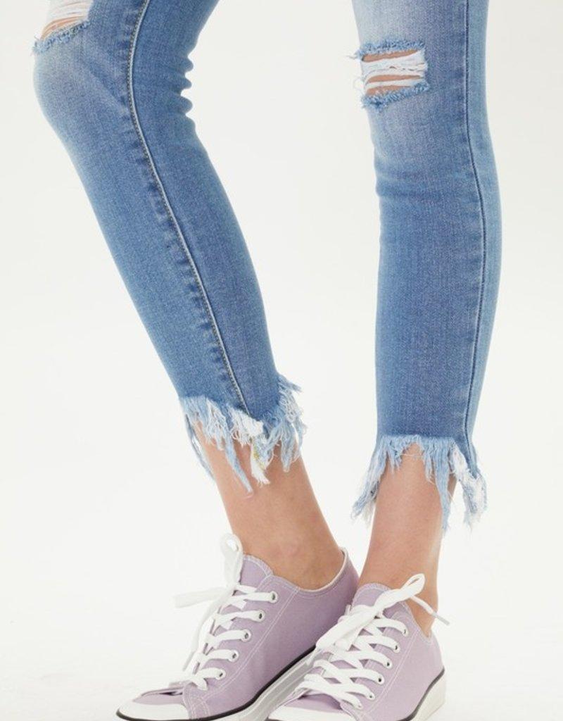 509 Broadway |Kellie| High Rise Ankle Skinny