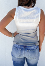 509 Broadway Ombre Knit Tank Top