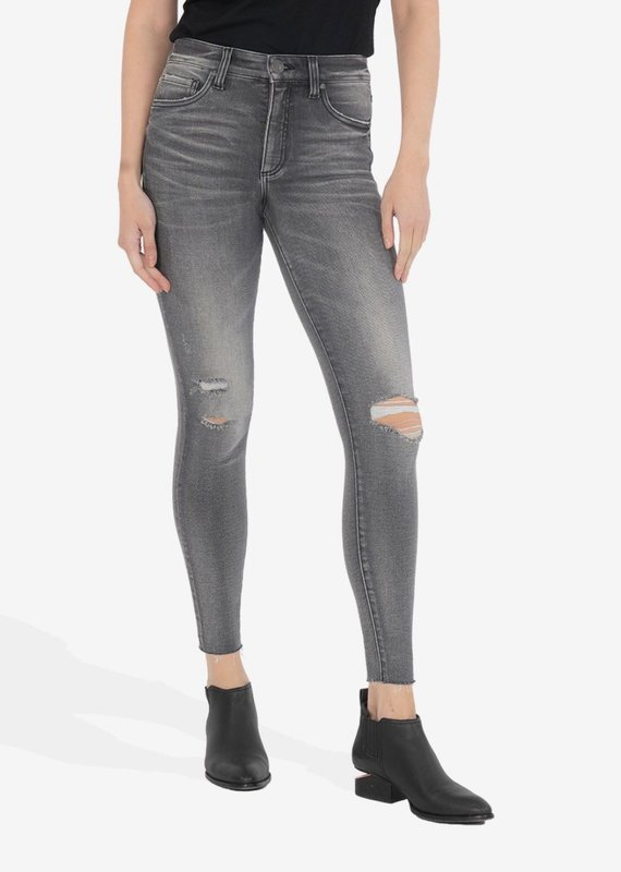 KUT From The Kloth Connie High Rise Fab Ab Ankle Skinny  Act 