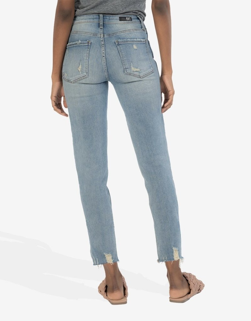 KUT From The Kloth Rachel High Rise Fab Ab Mom Jean |Enchanted|