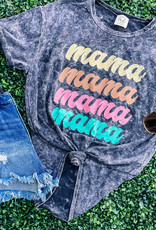 509 Broadway Washed Mama Graphic Tee
