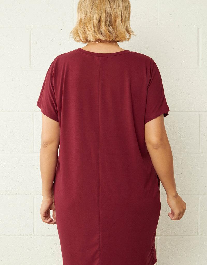 509 Broadway Basic Tee Dress