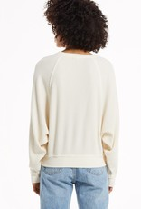 509 Broadway Claire Waffle Long Sleeve