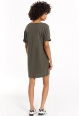 Z Supply V-Neck T-Shirt Dress