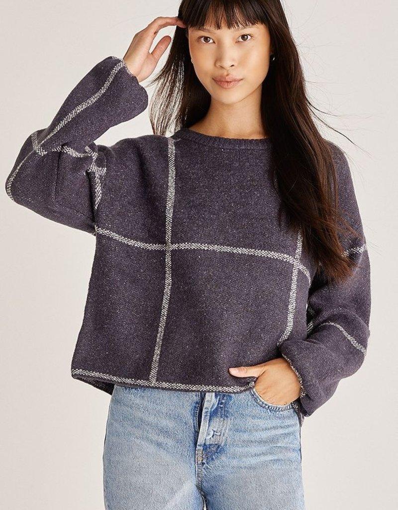 Z Supply Solange Plaid Sweater