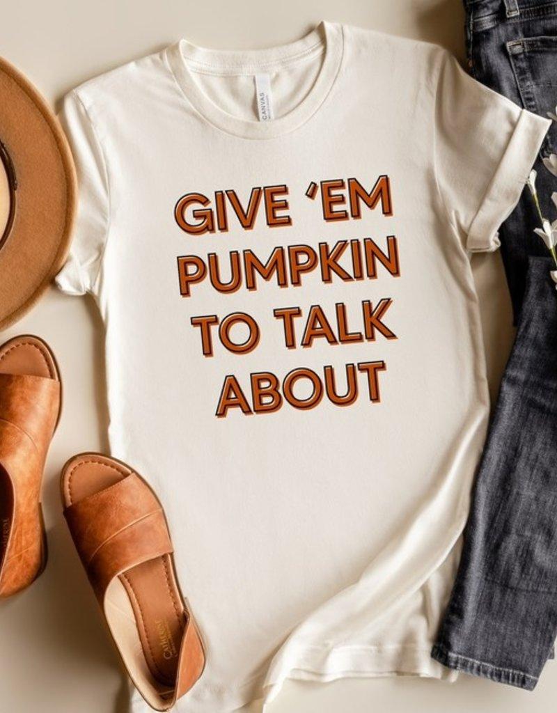 509 Broadway Pumpkin To Talk About Tee