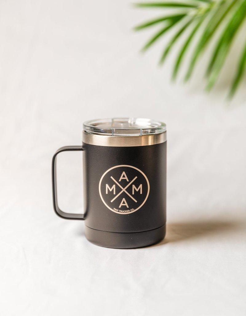 Tiny Trucker Mama X Stainless Steel Travel Mug