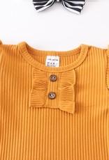 509 Broadway Baby Stripe Suspender Set