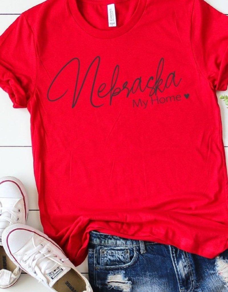 509 Broadway Nebraska My Home Graphic Tee
