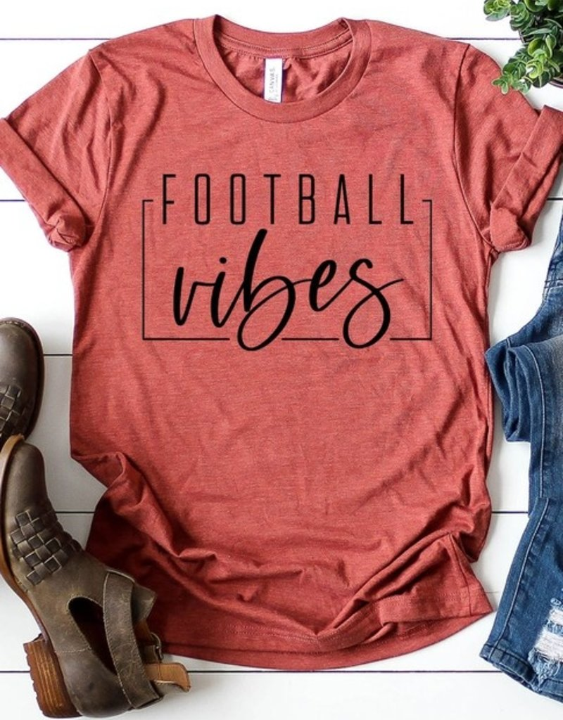 509 Broadway Football Vibes Graphic Tee