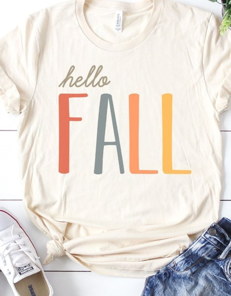 509 Broadway Hello Fall Graphic Tee