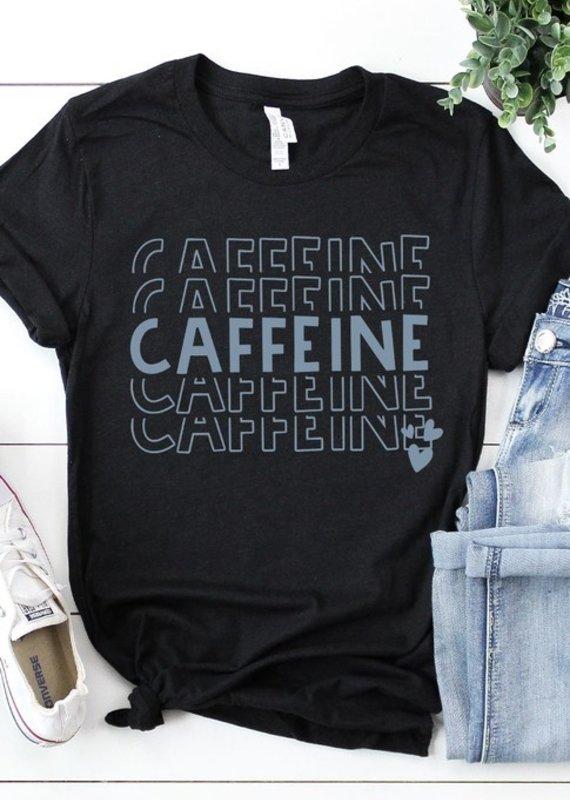 509 Broadway Caffeine Graphic Tee