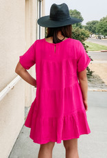 509 Broadway Swingy T-Shirt Dress