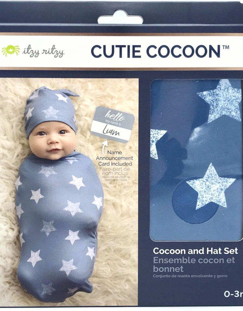 509 Broadway Cutie Cocoon Matching Cocoon & Hat Set