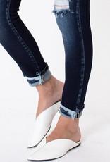 KanCan Esme High Rise Cuffed Ankle Skinny