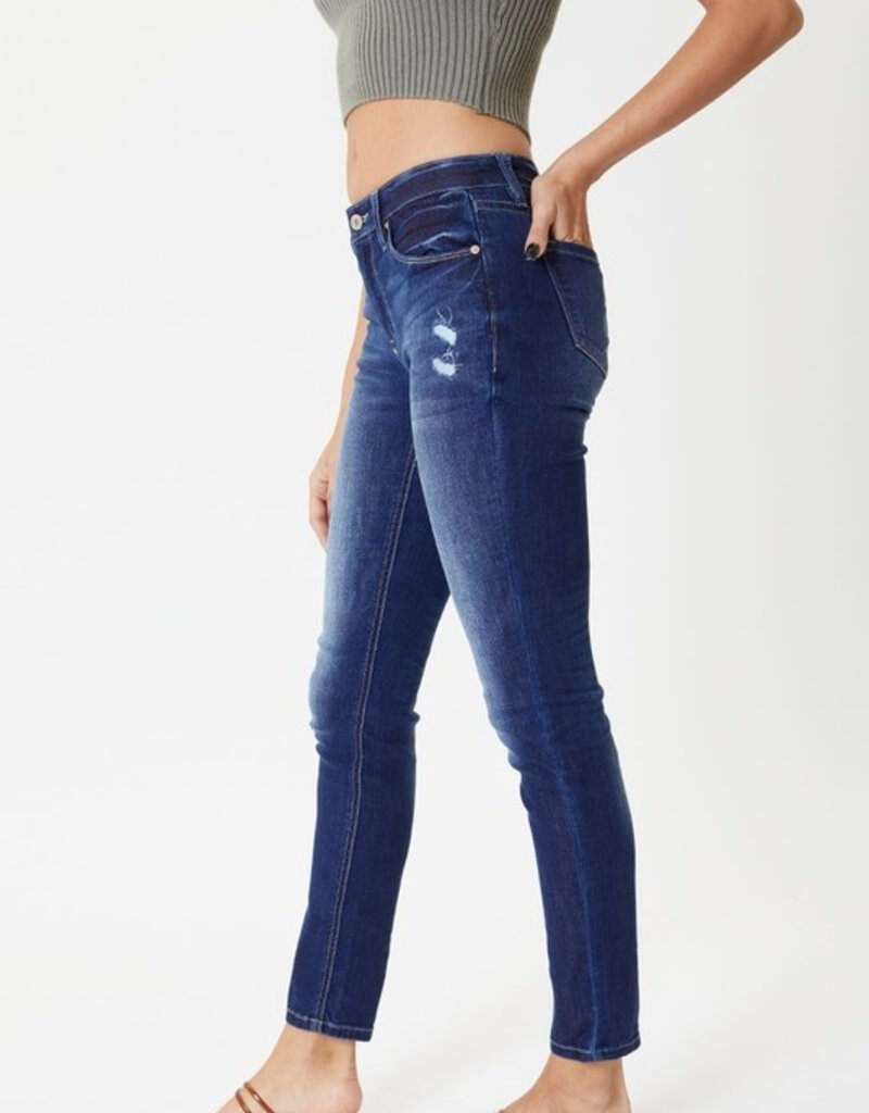 KanCan Nessa Mid Rise Skinny Jean