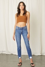 KanCan Anna Mid Rise Skinny Straight