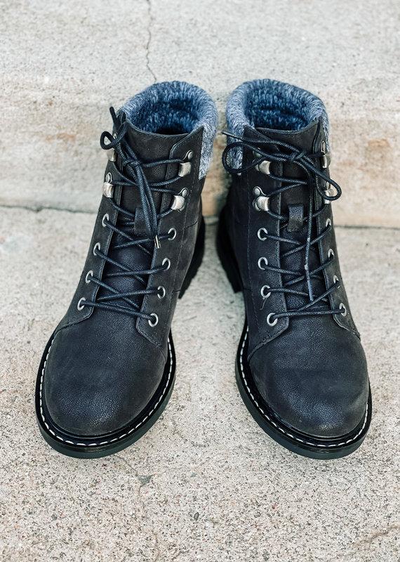 509 Broadway Ranie Combat Boot