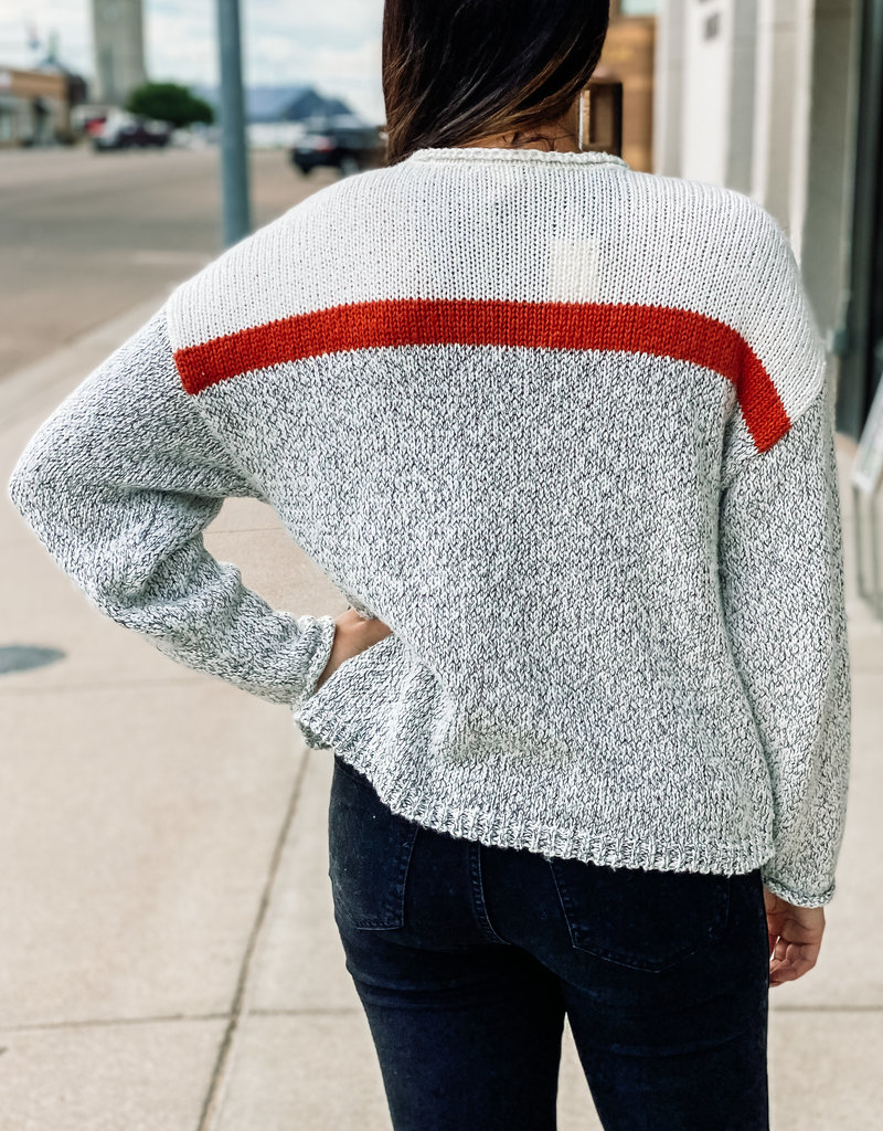 Z Supply Kennedy Color Block Sweater