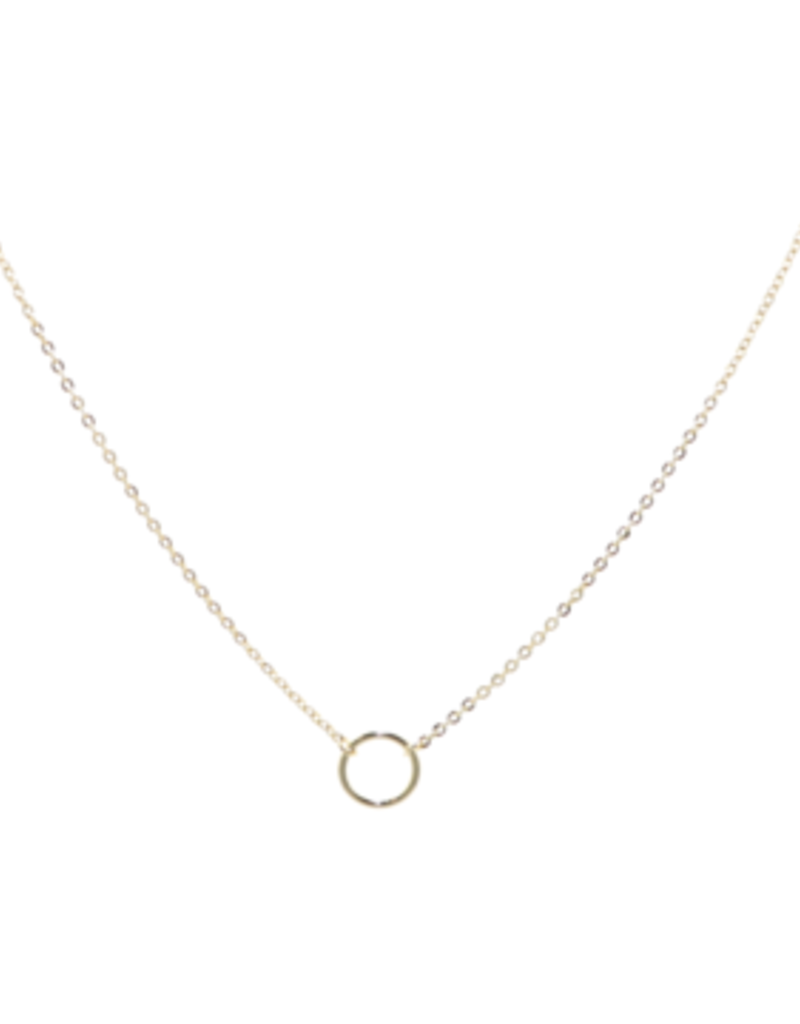 """BB Lila  Mini Girl  16"""" Solid Necklace"""