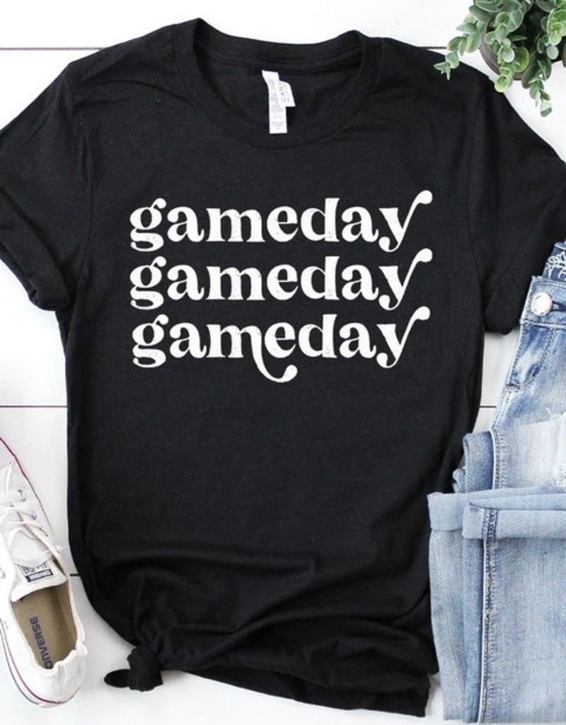 509 Broadway Distressed Game Day Tee