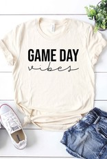509 Broadway Game Day Vibes Cursive Tee