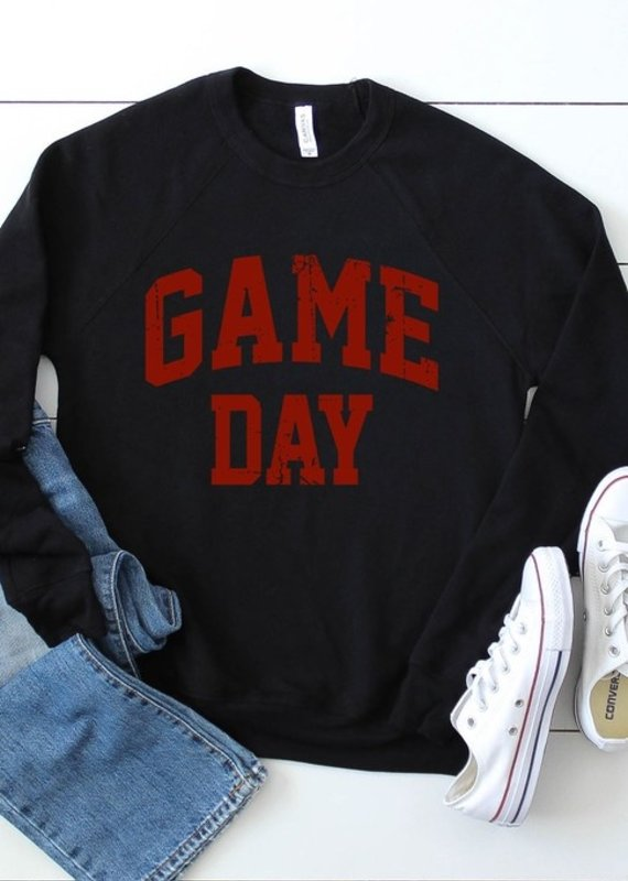 509 Broadway Vintage Game Day Graphic Sweatshirt