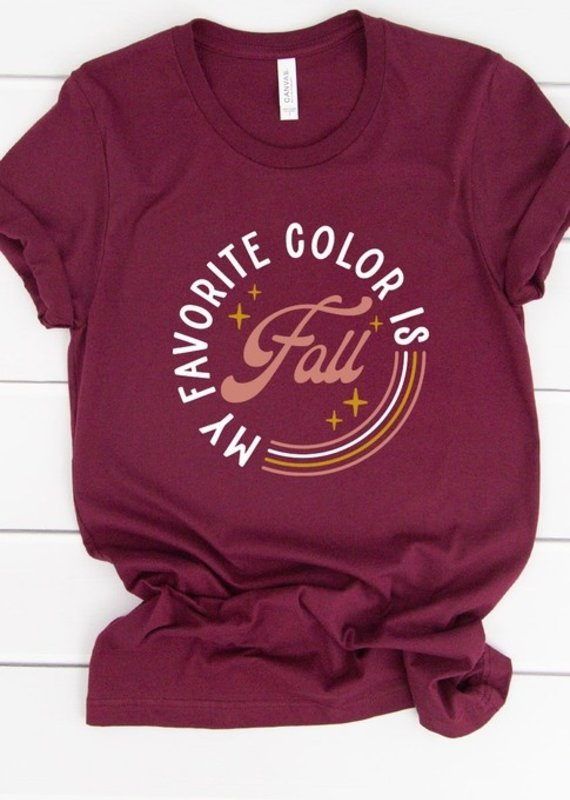 509 Broadway My Favorite Color Is Fall Tee
