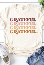 509 Broadway Grateful Repeat Graphic Tee