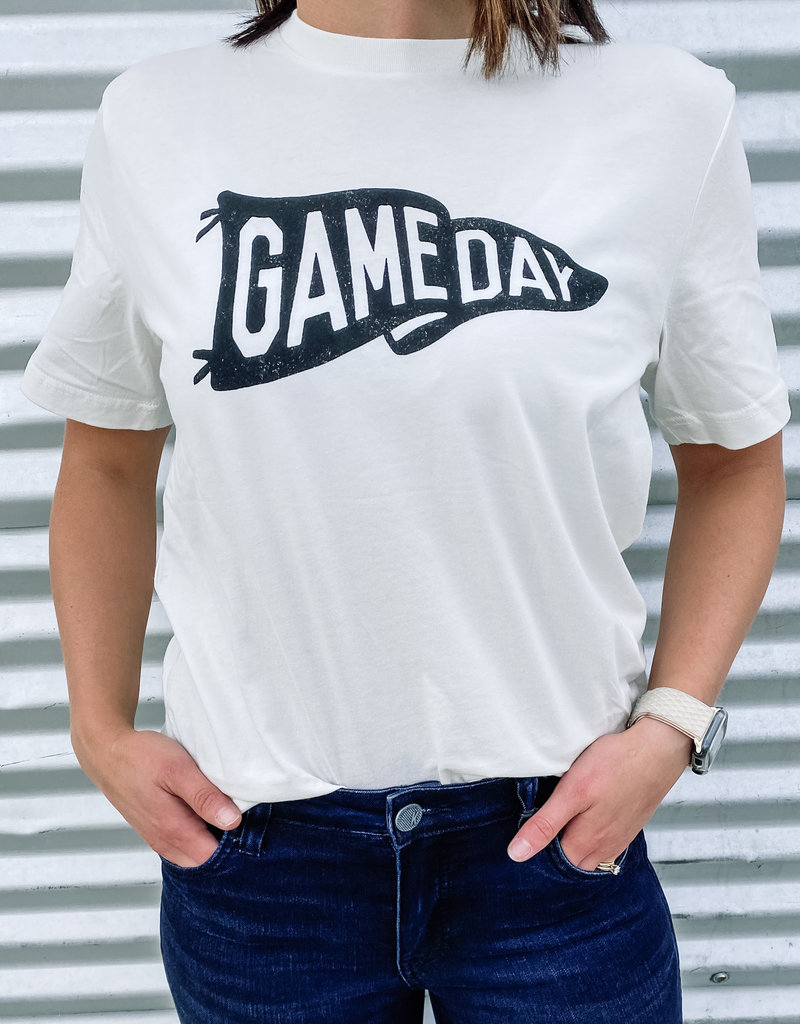 509 Broadway Game day Flag Graphic Tee