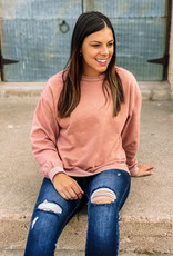 509 Broadway French Terry Knit Sweatshirt