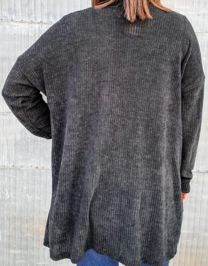 509 Broadway Soft Knit L/S Classic Cardigan