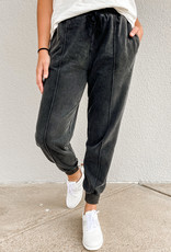 509 Broadway Mineral Washed Terry Jogger