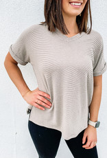 509 Broadway Loose Fit Short Sleeve Top