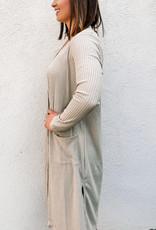509 Broadway Open Front Duster Cardigan