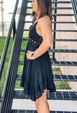 509 Broadway Scalloped Lace Bralettes Dress