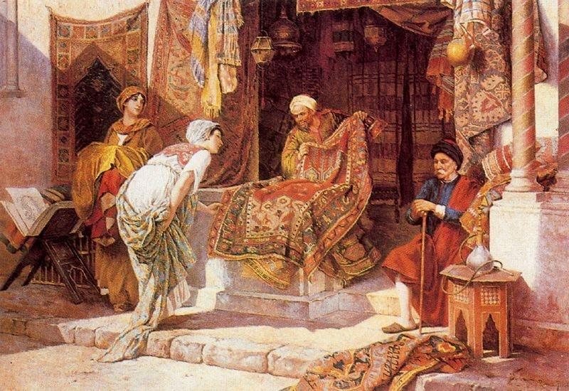 Persian carpet