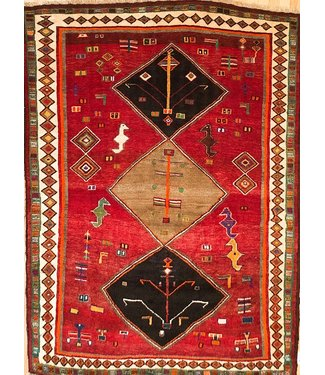 Shiraz 19-00027 Shiraz 4'10 X 6'7