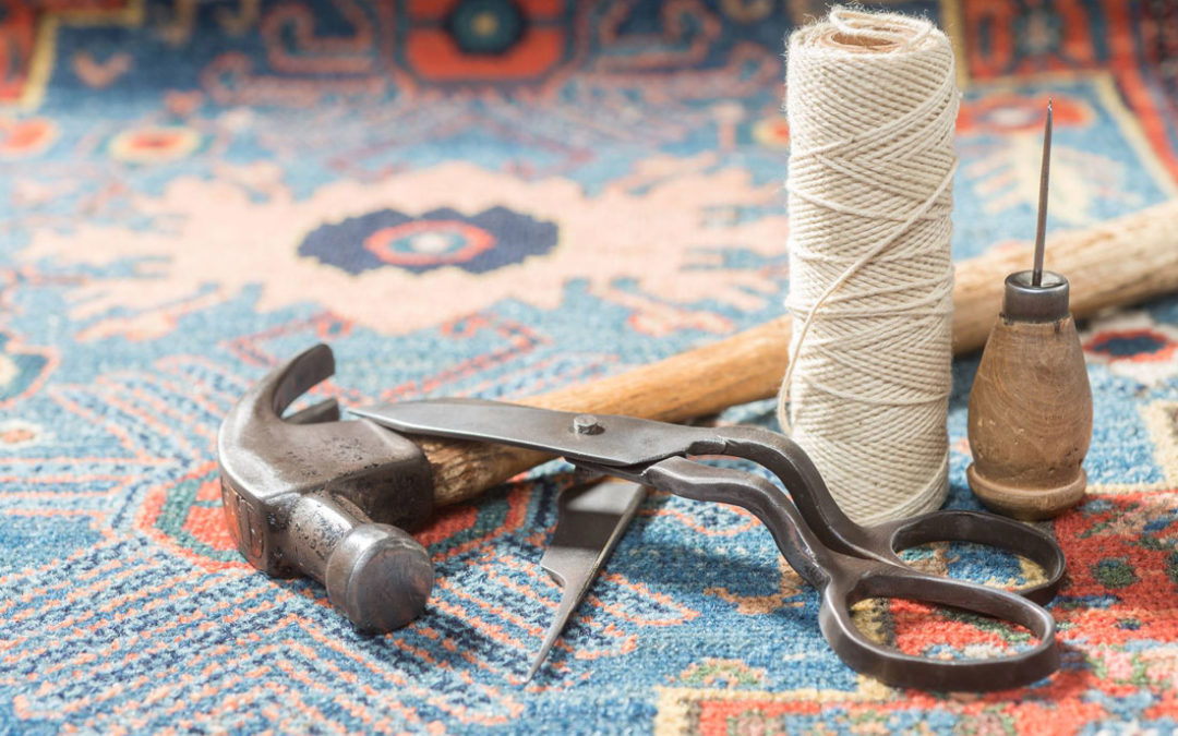 Should you repair your rug