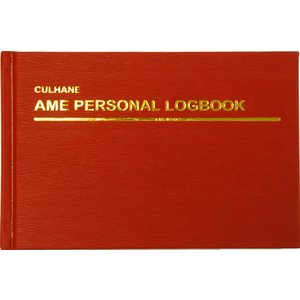CULHANE AME HARD COVER PERSONAL LOG