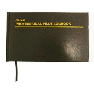 LARGE CULHANE LOGBOOK Professional Pilot Logbook