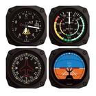 TRINTEC CLASSIC AIRCRAFT INSTRUMENT 4PCS MAGNET SET FMS 04