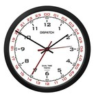 "TRINTEC 10"" DISPATCH CLOCK WHITE DIAL DSP02"