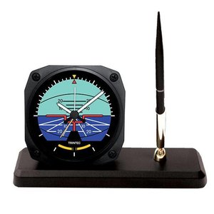 TRINTEC DESK PEN SET - HORIZON CLOCK DS 63