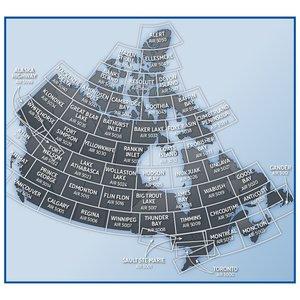 Nav Canada VNC Charts 1:500,000 Canada VFR Navigational Chart