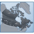 Enroute IFR Charts - High & Low Altitude CANADA Nav Canada