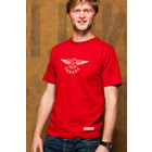 Red Canoe CANADA AIR SERVICE S/S T-SHIRT RED M-SST-CAS-01-HR