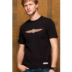 Red Canoe RED CANOE AUSTIN AIRWAYS S/S T SHIRT BLACK M-SST-AA-01-BK-01