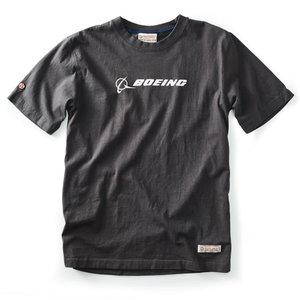 Red Canoe Boeing T shirt Slate